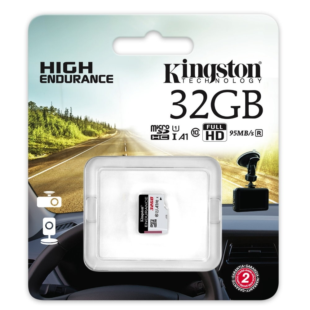 金士頓 Kingston High Endurance microSDHC 32G 高耐專用記憶卡 SDCE/32GB U1 A1