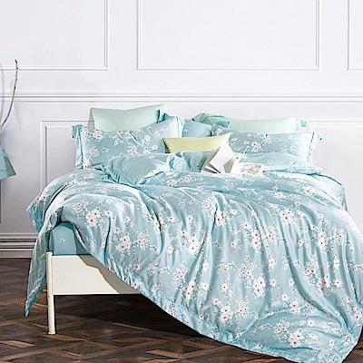 Ania Casa 靜蜜 涼感天絲 採用3M吸溼排汗專利 雙人鋪棉兩用被床包組
