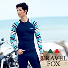TRAVELFOX 旅狐 大男長袖衝浪上衣