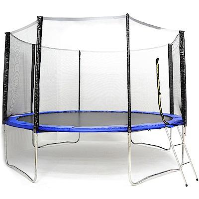 144吋護網型彈跳床(含保護網+梯子) 跳跳床