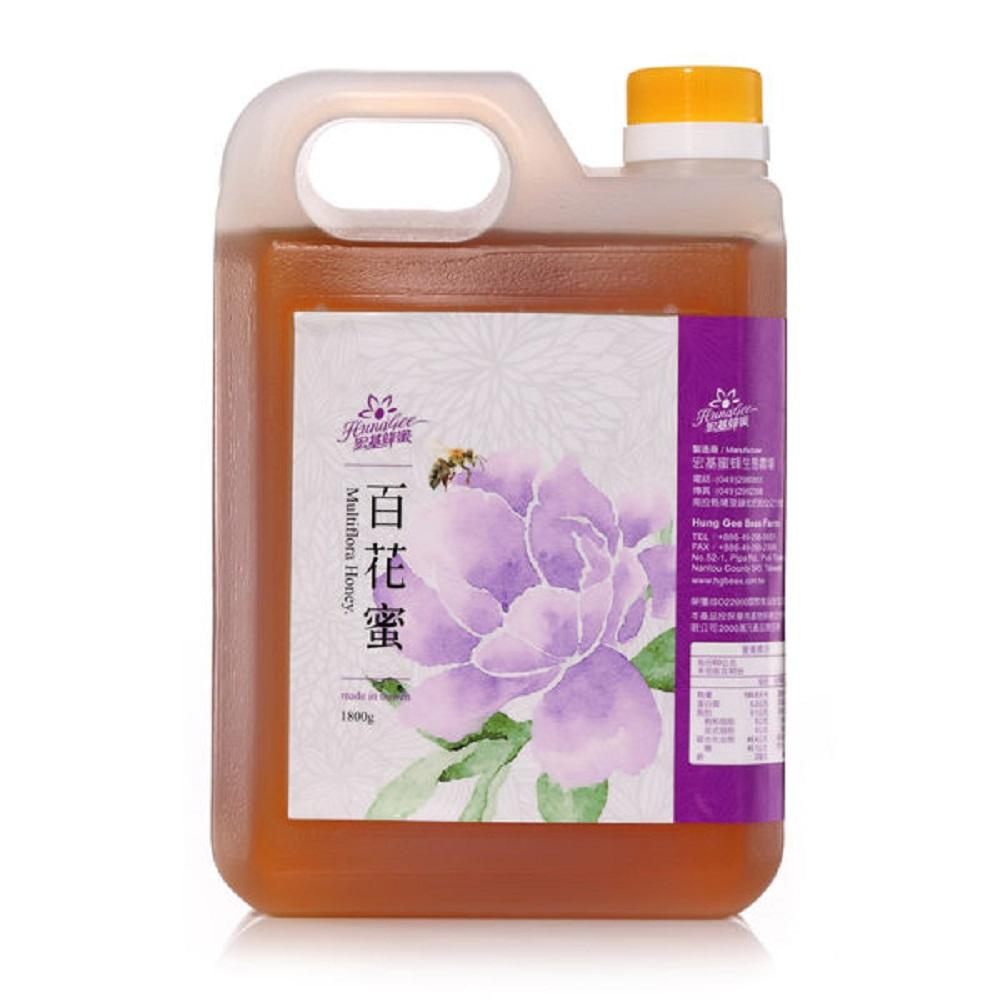宏基蜂蜜‧百花蜜(1800g/桶)