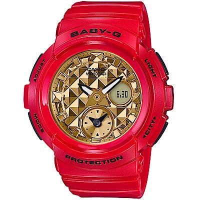 BABY-G 限定紅色運動錶(BGA-195VLA-4A)
