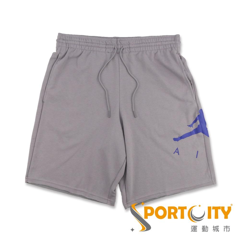 NIKE 男運動休閒短褲 AJ0808027 灰紫