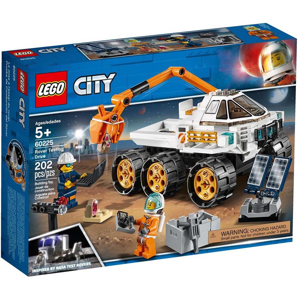 樂高LEGO 城市系列 - LT60225太空基地探測車