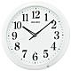 SEIKO 精工 滑動式秒針靜音掛鐘 QXA776W product thumbnail 1