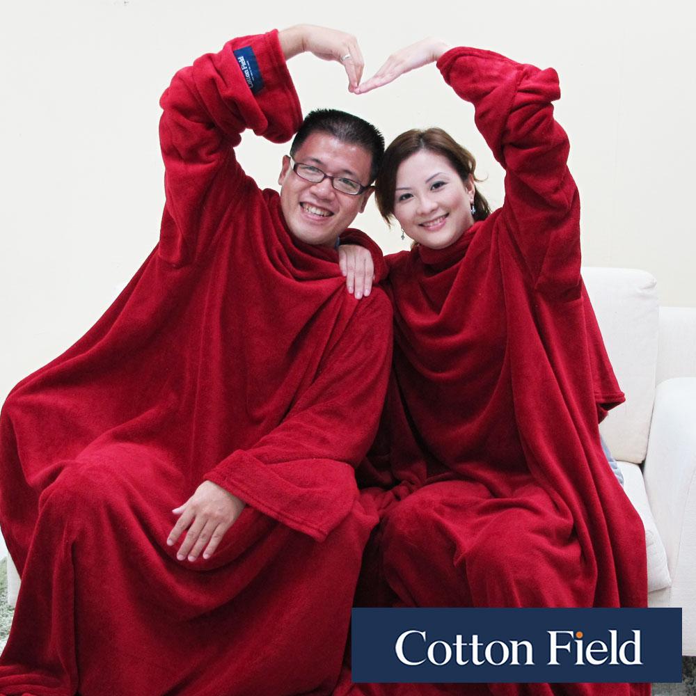 棉花田 樂邁 超細纖維創意雙人袖毯-2色可選(280x180cm) product image 1