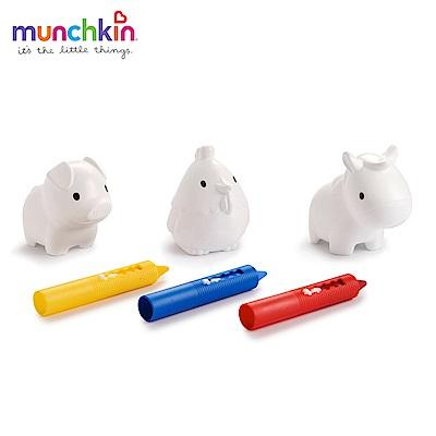 munchkin滿趣健-洗澡蠟筆-附塗鴉玩具