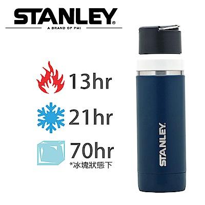 美國Stanley GO陶瓷真空保溫瓶1L 群青藍