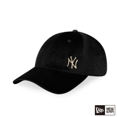 NEW ERA 9FORTY 940女版 VELVET絲絨 洋基 黑 棒球帽