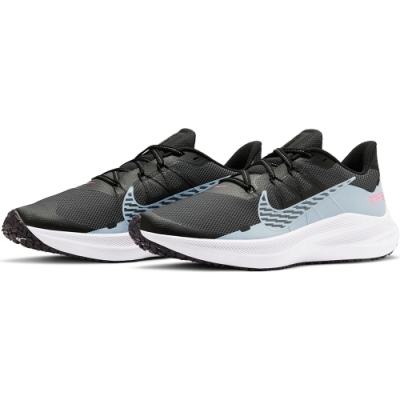 NIKE 慢跑鞋 男鞋 緩震 訓練 運動鞋  黑藍 CU3870403 WINFLO 7 SHIELD