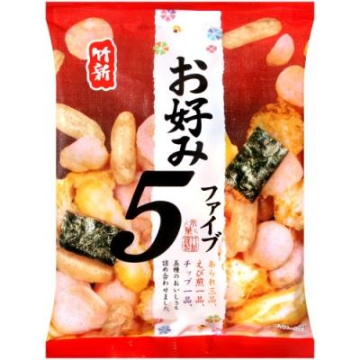 竹新製果 綜合小米果(38g)