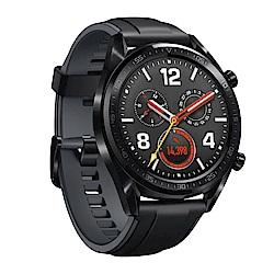 HUAWEI Watch GT 運動智慧手錶 (曜石黑矽膠錶帶)