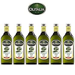 Olitalia奧利塔精緻橄欖油禮盒組(1000mlx6瓶)