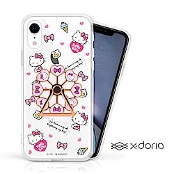 iPhone XR HelloKitty 摩天輪旋轉指環背蓋 - 俏皮樂園
