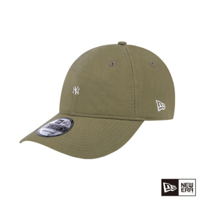 NEW ERA 940 UNST CRINKLE COTTON 洋基 卡其