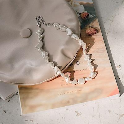 不規則珍珠項鍊-OB大尺碼