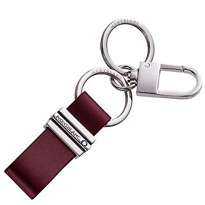 寶龍大班系列雙環鉤扣鑰匙圈-酒紅