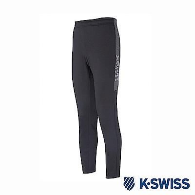 K-SWISS Jersey Pants韓版運動長褲-男-灰