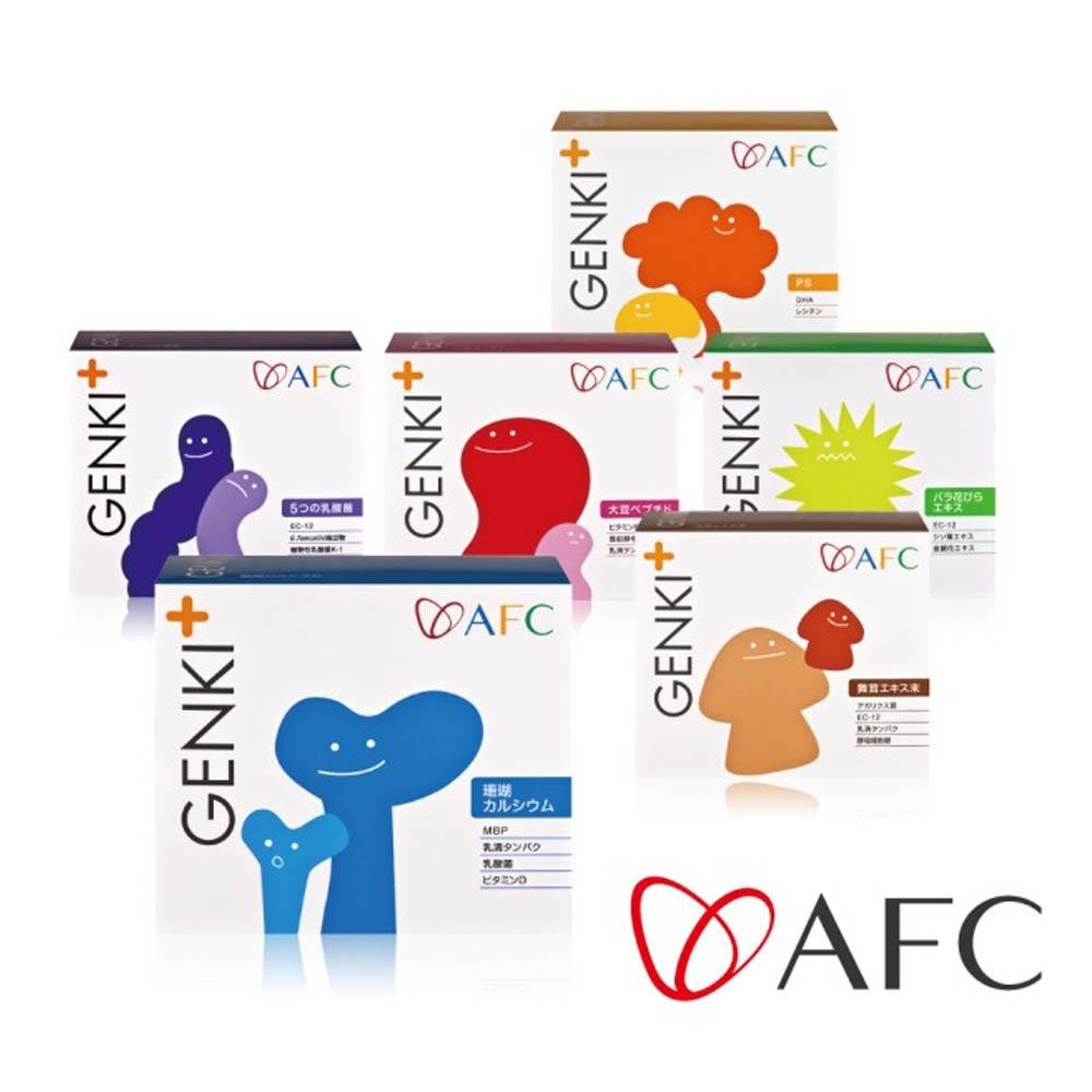 AFC GENKI+ 兒童營養顆粒食品_60包/盒(日本原裝)