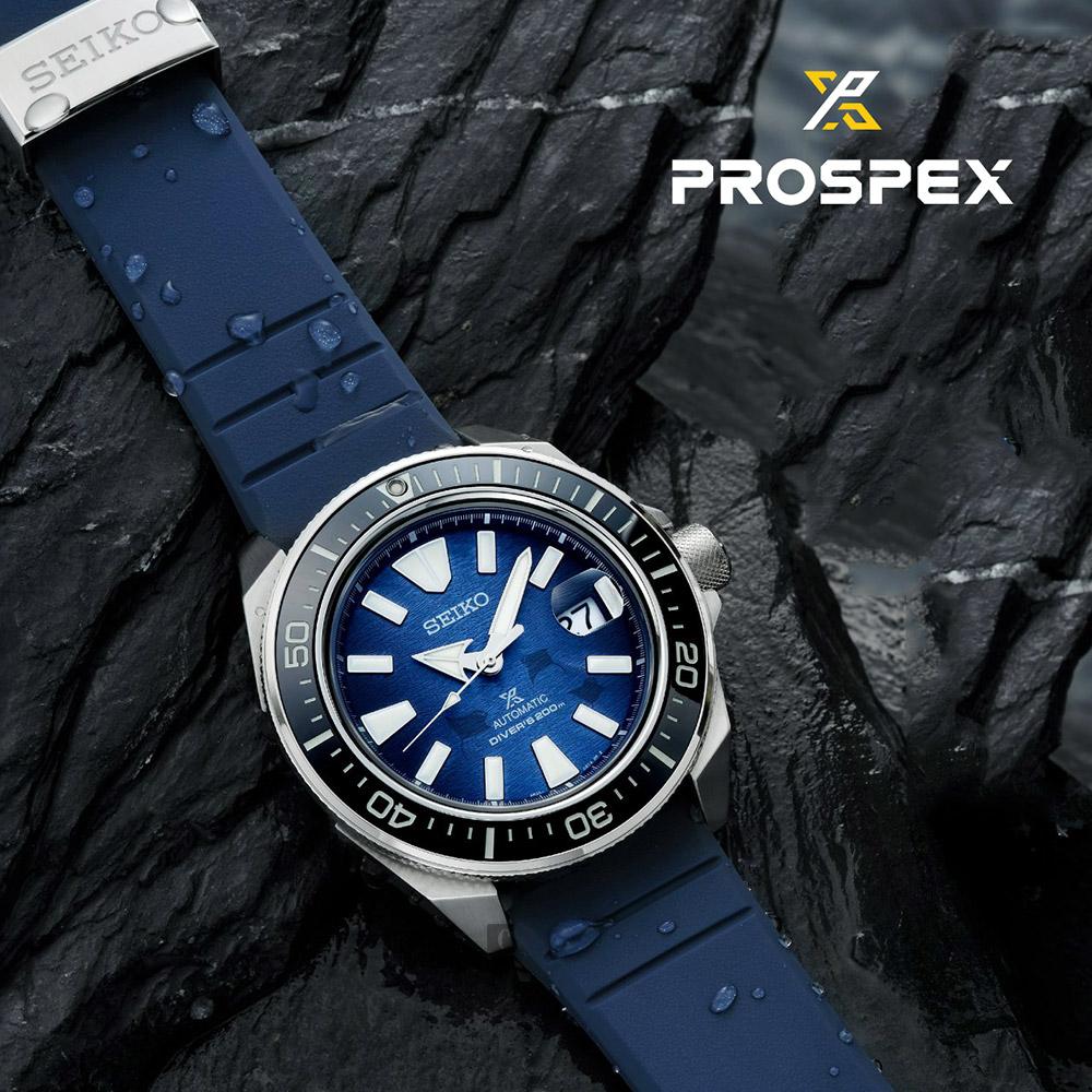 SEIKO 精工 PROSPEX 愛海洋 武士王 200米潛水機械錶(SRPF79K1/4R35-03W0H)-45mm