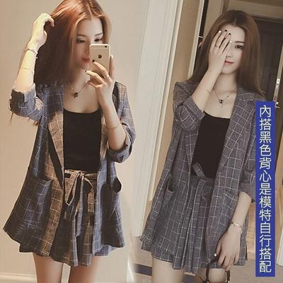 【韓國K.W.】(預購)輕美學OL風格文套裝褲(共1色)