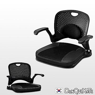DonQuiXoTe-韓國原裝KINOMO和風人體工學椅-黑