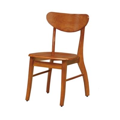 Boden-查克實木餐椅/單椅(四入組合)-43x43x75cm