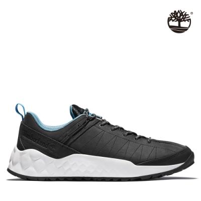 Timberland 男款黑色磨砂革健行鞋
