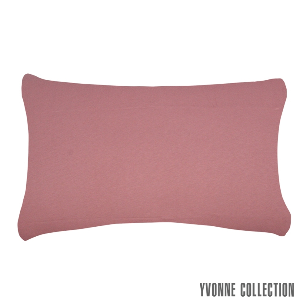 YVONNE COLLECTION 膠原美膚枕套-暗粉/淺灰 product image 1