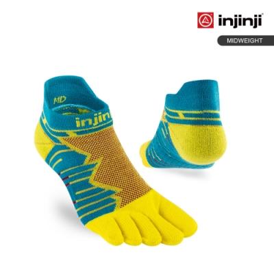 【INJINJI】Ultra Run終極系列五趾隱形襪 [太陽黃]