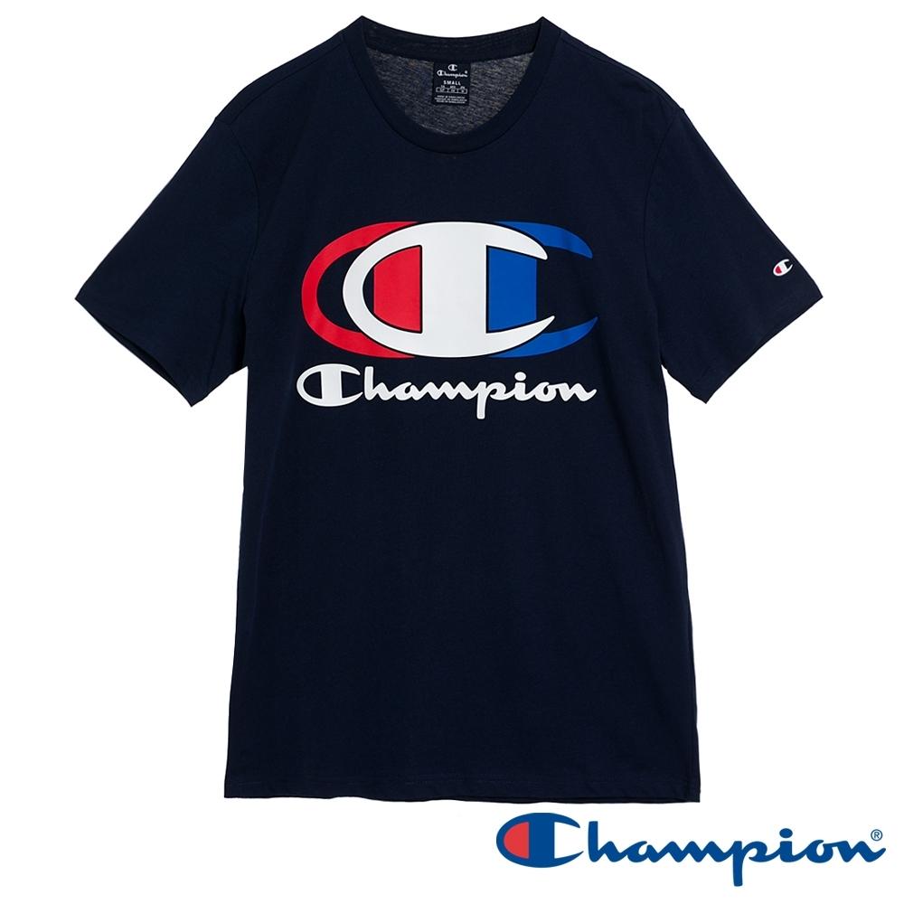 Champion EU Legacy Logo短T(深藍色)