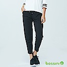bossini女裝-厚棉針織長褲01黑