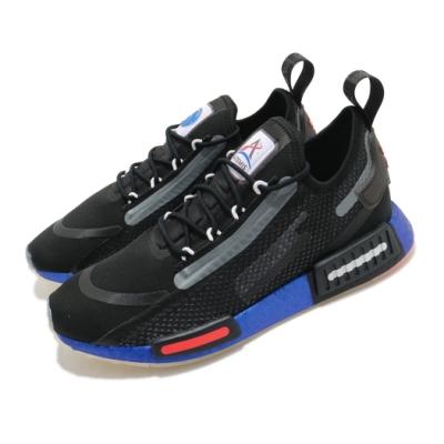 adidas 休閒鞋 NMD R1 Spectoo 襪套式 男鞋 愛迪達 Boost 緩震 NASA 穿搭 黑 藍 FX6819