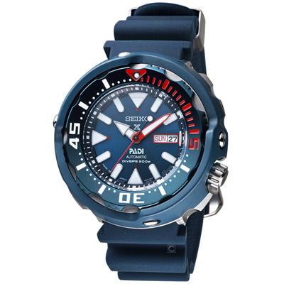 SEIKO X PADI聯名 PROSPEX 鮪魚罐頭潛水錶(SRPA83J1)52mm