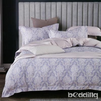 BEDDING-3M專利+頂級天絲-6X7尺特大薄床包涼被四件組-夢寐