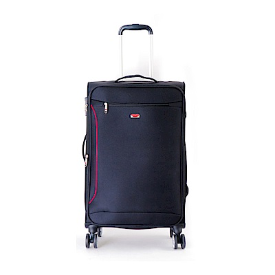 DF travel - 說走就走!休閒輕旅布面24吋行李箱-共2色