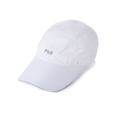 FILA 時尚運動帽-白 HTV-1007-WT