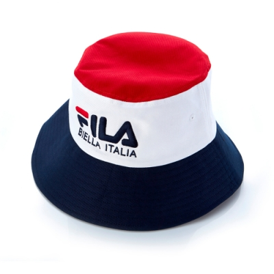 FILA 時尚筒帽-白 HTT-5206-WT