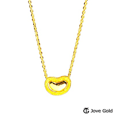 Jove Gold 漾金飾 愛情種子黃金項鍊