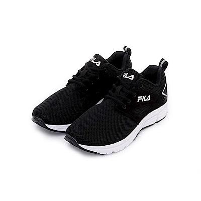 FILA 中性健走鞋-黑 4-F702T-001