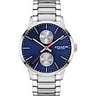 COACH Metropolitan 英國紳士時尚腕錶(14602098)-藍/42mm