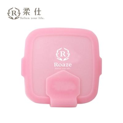 Roaze 柔仕 專利矽膠抽取盒 + 乾濕兩用布巾(20片) - 佩佩粉