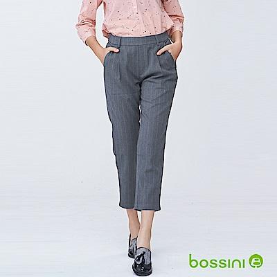 bossini女裝-彈性修身褲01霧灰