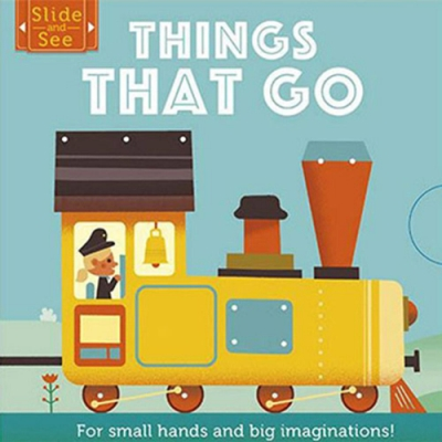 Slide And See:Things That Go 硬頁推拉書:交通工具篇