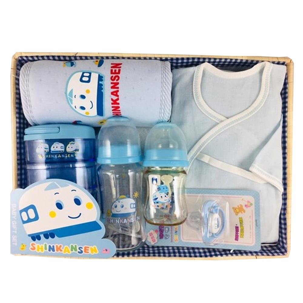 三麗鷗 新幹線 新生兒歡樂點心時間彌月禮盒組