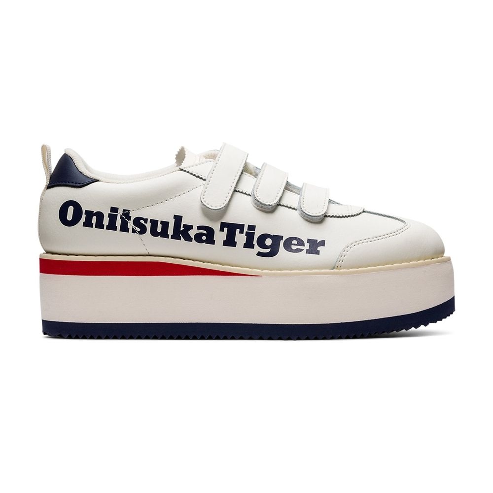 Onitsuka Tiger鬼塚虎-DELEGATION CHUNK W 休閒鞋 女 (米白)1182A207-112