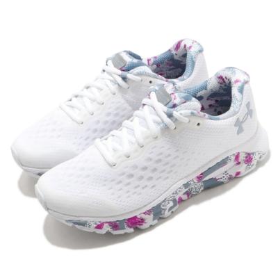 UA 慢跑鞋 HOVR Infinite 3 運動 女鞋 輕量 透氣 舒適 避震 路跑 健身 白 灰 3024002100
