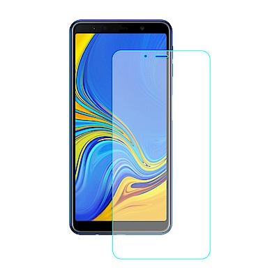 【SHOWHAN】三星 A7(2018) 9H鋼化玻璃0.3mm疏水疏油抗指紋保護貼