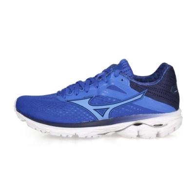 MIZUNO 女 慢跑鞋 WAVE RIDER 23 藍紫丈青