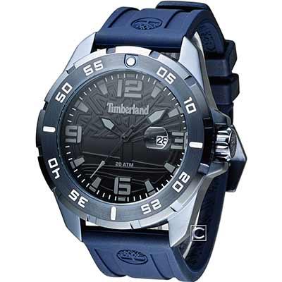 Timberland 極地探險時尚錶(TBL.14416JSBL/02P)43mm